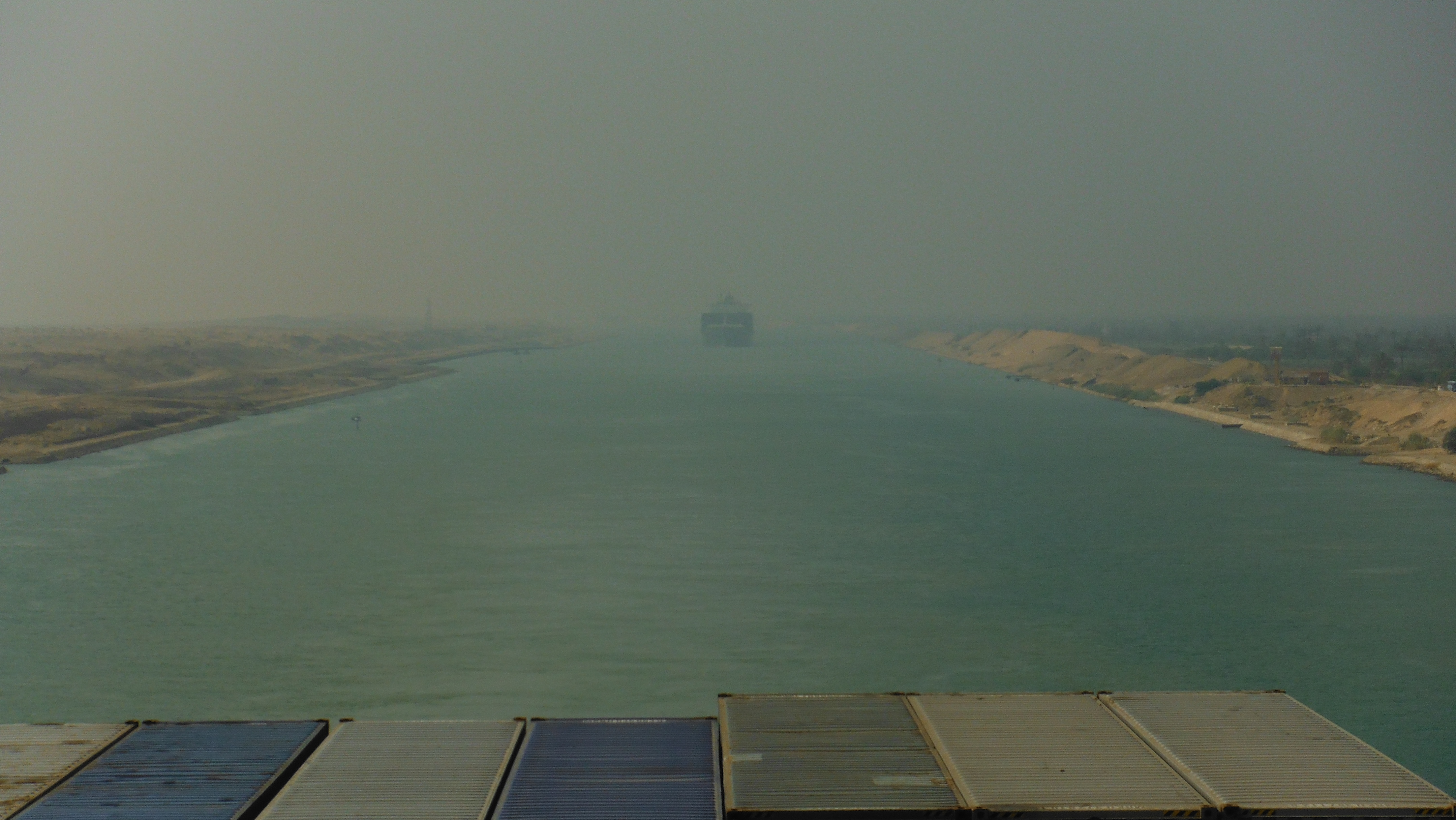 Transiting the Suez Canal by MIDN Guettelin