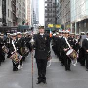 Regimental Band Ready to Step Off